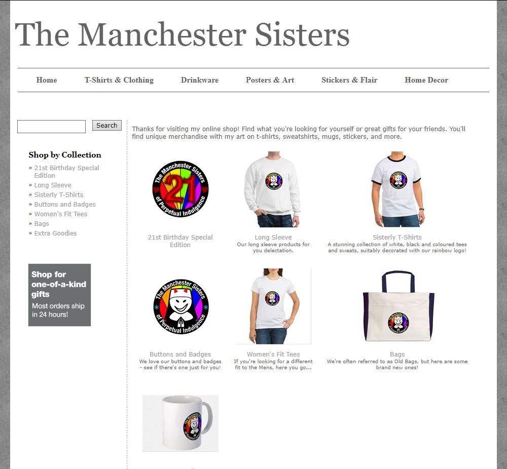 The Manchester Sisters Shop