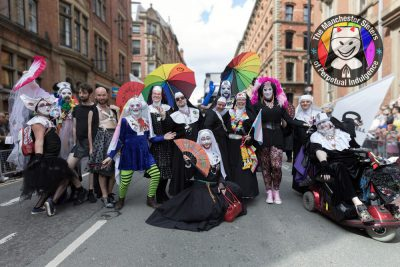 The-Manchester-Sisters-and-friends-at-Manchester-Pride-2017