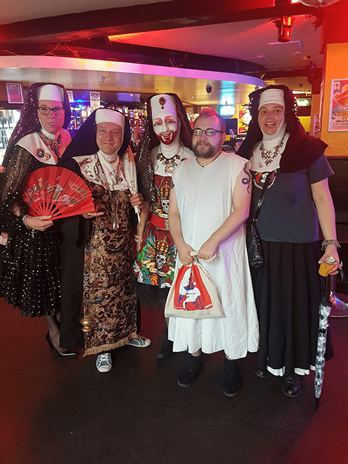 Novice Sister Bootrice and The Manchester Sisters