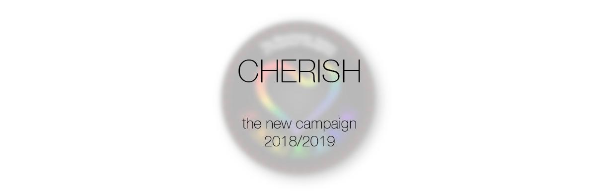 cherish message on blur