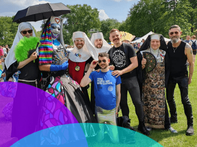 The Manchester Sisters and the Manchester Leathermen at Salford Pride 2019_logo.jpg