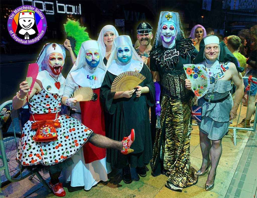 The Manchester Sisters of Perpetual Indulgence GHT Drag Ball 2019