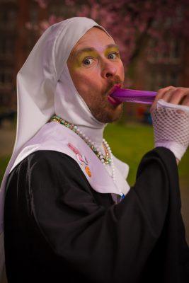 Novice Sister Judy